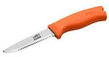 Μαχαίρι διάσωσης, καταδύσεων, ψαρέματος που επιπλέει στο νερό με λαβή που φωσφορίζει